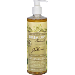 HGR1704071 - Dr. Jacobs NaturalsLiquid Soap - Castile - Gardenia - 16 oz