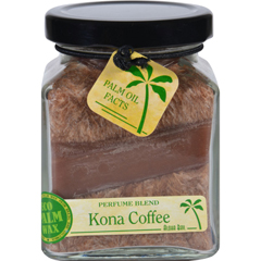 HGR1717743 - Aloha BayCandle - Cube Jar - Perfume Blends - Kona Coffee - 6 oz