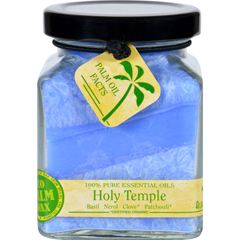HGR1717792 - Aloha BayCandle - Cube Jar - Pure Essential Oils - Holy Temple - 6 oz