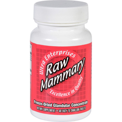 HGR1718634 - Ultra GlandularsMammary - Raw - 60 Tablets