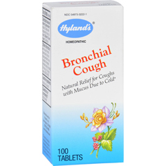 HGR1720275 - Hyland'sHylands Homeopathic Bronchial Cough - 100 Tablets