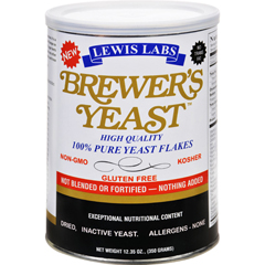 HGR1742824 - Lewis LabBrewers Yeast Flakes - 12.35 oz