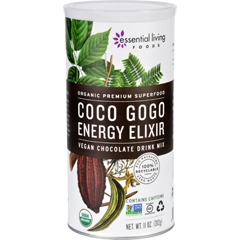 HGR1773373 - Essential Living FoodsDrink Mix - Organic - Coco GoGo Energy Elixir - 11 oz