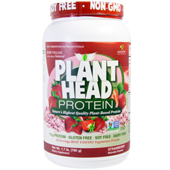 HGR1789056 - Genceutic NaturalsPlant Head Protein - Strawberry - 1.7 lb