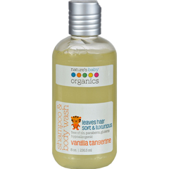 HGR0196485 - Nature's Baby OrganicsShampoo and Body Wash Vanilla Tangerine - 8 fl oz
