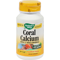 HGR0269134 - Nature's WayCoral Calcium with 73 Trace Minerals - 90 Vegetarian Capsules