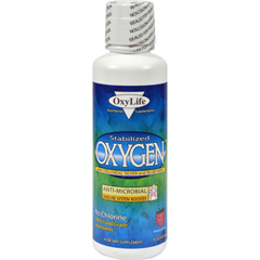 HGR0429332 - Oxylife ProductsOxylife Stabilized Oxygen with Colloidal Silver and Aloe Vera Mountain Berry - 16 fl oz
