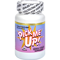 HGR0607515 - California NaturalPick Me Up Vitamin - 60 Capsules