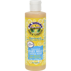 HGR0667881 - Dr. WoodsShea Vision Pure Castile Soap Baby Mild with Organic Shea Butter - 8 fl oz