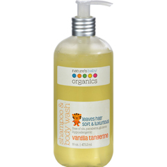 HGR0752436 - Nature's Baby OrganicsShampoo and Body Wash Vanilla Tangerine - 16 fl oz