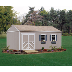 HHS18217-4 - Handy Home ProductsPremier Series - Columbia 12 x 12 Storage Building With Floor Kit