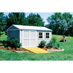 HHS18506-9 - Handy Home ProductsPremier Series - Somerset 10 x 16 Storage Building With Floor Kit