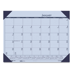 HOD12473 - House of Doolittle™ EcoTones® 100% Recycled Monthly Desk Pad Calendar