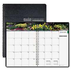 HOD264632 - House of Doolittle™ Earthscapes™ Gardens of the World Ruled Monthly Planner