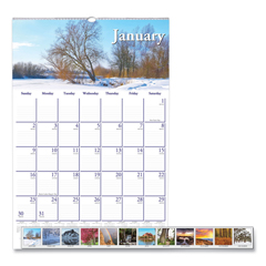 HOD378 - House of Doolittle™ Earthscapes™ 100% Recycled Scenic Beauty Monthly Wall Calendar