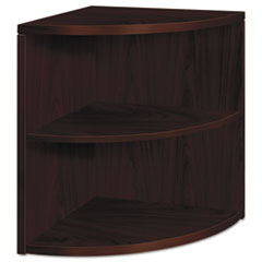 HON105520NN - HON® 10500 Series Two-Shelf End Cap Bookshelf