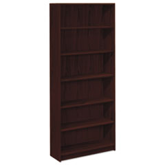 HON1877N - HON® 1870 Series Square Edge Laminate Bookcase