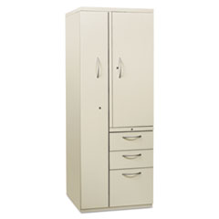 HONST24723RAQ - HON® Flagship® Personal Storage Tower with Box/Box/File Drawers