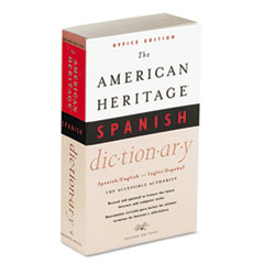 HOUH21079 - Houghton Mifflin American Heritage® Office Edition Spanish Dictionary