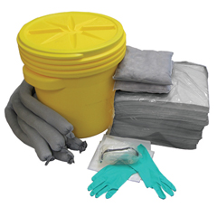 HSCAS-SK20G - HospecoAllSorb™Universal Spill Kit Over Packs, 20 Gallon Pail