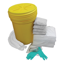 HSCOS-SK30G - HospecoAllSorb™ Oil Only Spill Kit Over Packs, 30 Gallon Pail