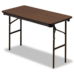 ICE55304 - Iceberg Economy Wood Laminate Folding Table