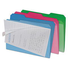 IDEFT07187 - find It™ Clear View Interior File Folders