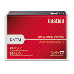 IMN17204 - imation® 1/8 inch Tape DDS DAT72 Data Cartridge