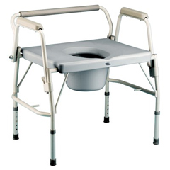 INV6599 - InvacareBariatric Drop-Arm Commode
