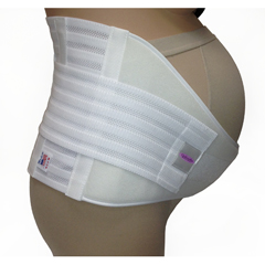 ITAGMS-99WXXL - Ita-MedGABRIALLA® Maternity Support Belt (Strong Support) - White, 2XL