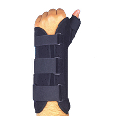ITAMWRS-203LS - Ita-MedMAXAR® Wrist Splint with Abducted Thumb - Left Hand, Small