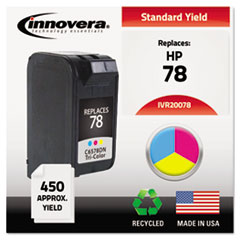 IVR20078 - Innovera Remanufactured C6578DN (78) Ink, 450 Page-Yield, Tri-Color