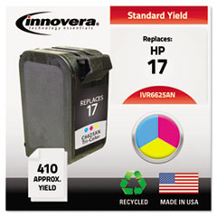 IVR6625AN - Innovera Remanufactured C6625AN (17) Ink, 410 Page-Yield, Tri-Color