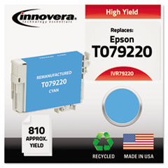 IVR79220 - Innovera Remanufactured High-Yield T079220 (79) Ink, 810 Page-Yield, Cyan