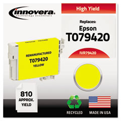 IVR79420 - Innovera Remanufactured High-Yield T079420 (79) Ink, 810 Page-Yield, Yellow