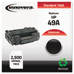 IVR83049A - Innovera Remanufactured Q5949A (49A) Laser Toner, 2500 Yield, Black