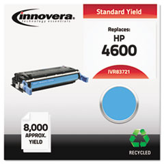 IVR83721 - Innovera Remanufactured C9721A (641A) Toner, 8000 Yield, Cyan
