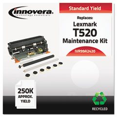 IVR99A2420 - Innovera Remanufactured 56P9104 (T520) Maintenance Kit, 250000 Yield
