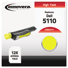 IVRD5111 - Innovera Compatible with 310-7895 (5110) Toner, 12000 Yield, Yellow
