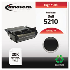 IVRD5210 - Innovera Remanufactured 341-2916 (5110) Toner, 20000 Yield, Black