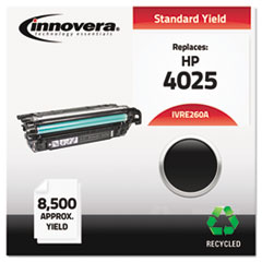 IVRE260A - Innovera Remanufactured CE260A (260A) Laser Toner, 8500 Yield, Black
