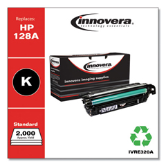 IVRE320A - Innovera Remanufactured CE320A (128A) Laser Toner, 2000 Yield, Black