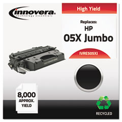 IVRE505XJ - Innovera Remanufactured CE505X(J) (5X) Laser Toner, 8000 Yield, Black