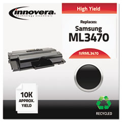 IVRML3470 - Innovera Remanufactured High-Yield ML-D3470B Toner, 10000 Page-Yield, Black
