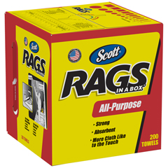 KCC75260CT - SCOTT® Rags in a Box