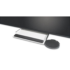 KCS39180 - Kelly Computer Supply Underdesk Keyboard Tray with Oval Mouse Platform