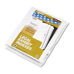 KLF80021 - Kleer-Fax® 80000 Series Alpha Side Tab Legal Index Divider