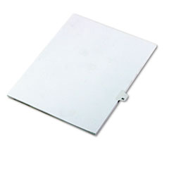 KLF82241 - Kleer-Fax® 80000 Series Numerical Side Tab Legal Index Divider