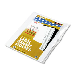 KLF91810 - Kleer-Fax® 90000 Series Alpha Side Tab Legal Index Divider