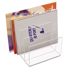 KTKAD45 - Kantek Clear Acrylic Desk File